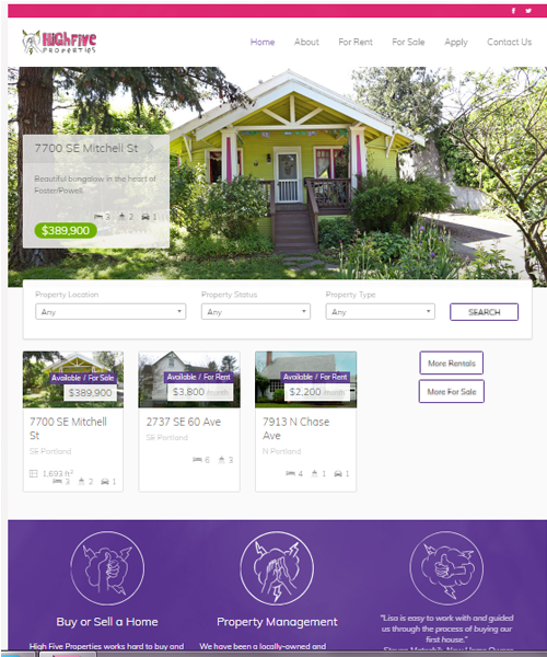 high_five_properties_home_page